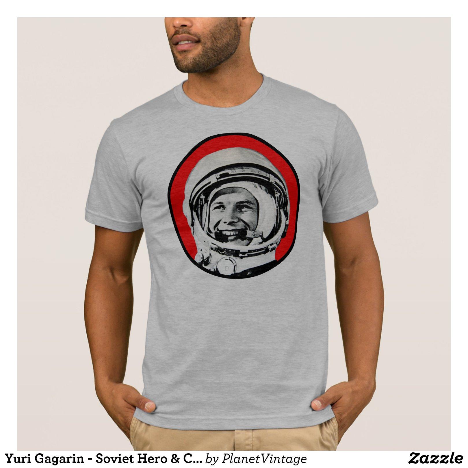 Yuri Gagarin – Soviet Hero & Cosmonaut T-Shirt 217